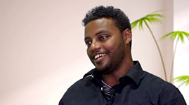 Tewodros Getachew Traveled from Addis Ababa, Ethiopia to India for Cornea Transplant