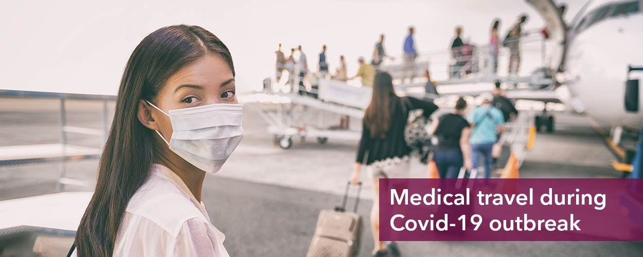 Medical travel during Covid-19 outbreak