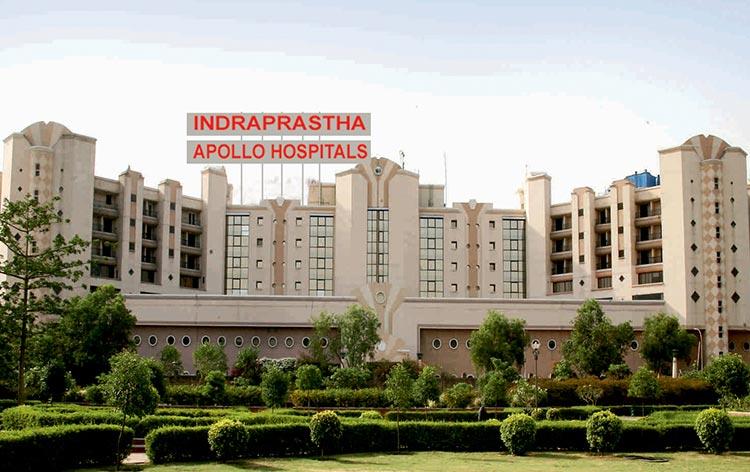 Affordable treatment at Indraprastha Apollo Hospital